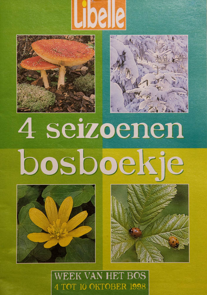 For the Flemish women's magazine Libelle two pocketbooks were made in order to illustrate the annual 'Week of the Woods'. The booklets were written for children in primary school