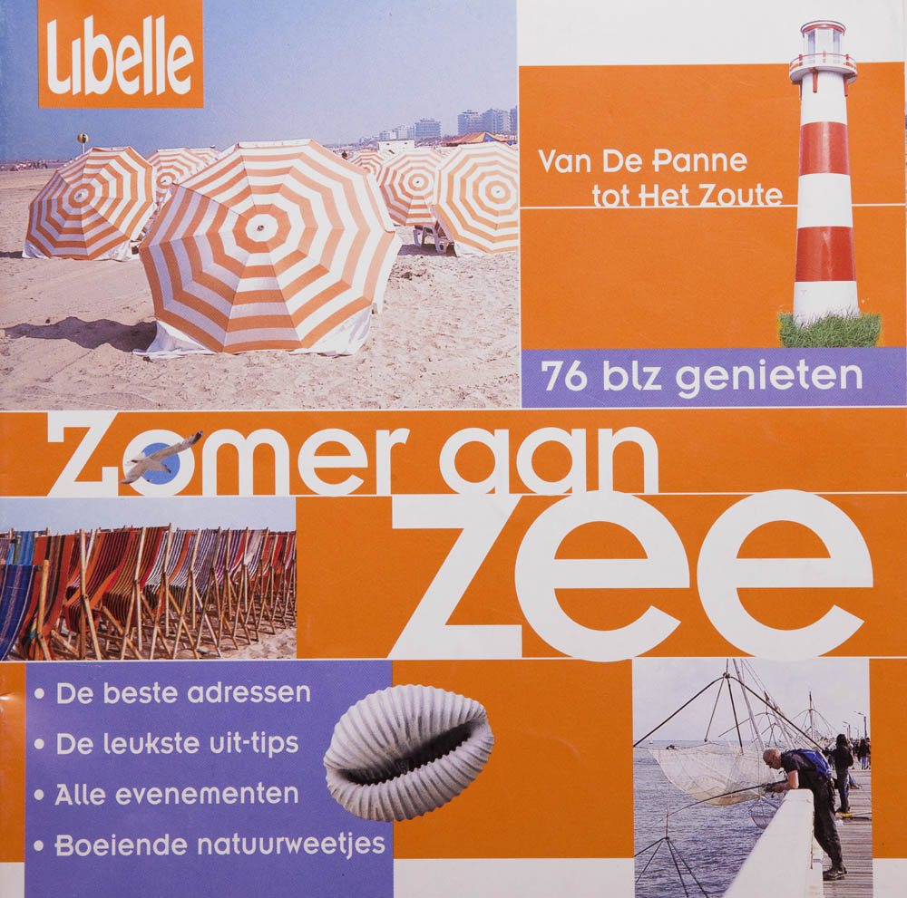 For the Flemish women's magazine Libelle a pocketbook was made as a tourist guide for the Belgian coast.