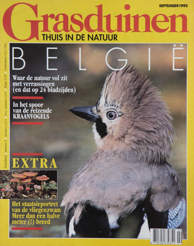 For over twelve years Groenreporters worked for this Dutch nature magazine, contributing text and images.