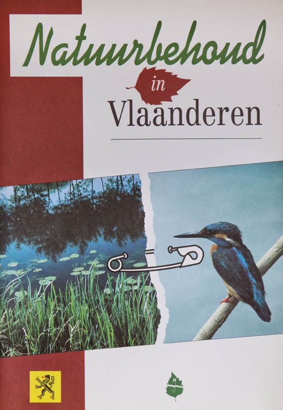 Brochure ordered by the Flemish government, regarding the 'Year of Nature conservation'